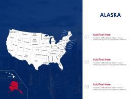 Alaska Map Powerpoint Presentation Ppt Template