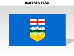 Alberta Country Powerpoint Flags