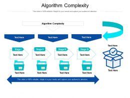 Algorithm Complexity Ppt Powerpoint Presentation Portfolio File Formats Cpb