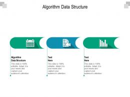 Algorithm Data Structure Ppt Powerpoint Presentation Pictures Inspiration Cpb