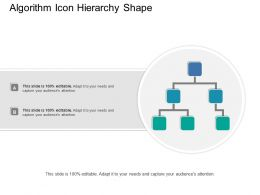 Algorithm Icon Hierarchy Shape