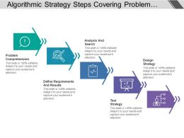 Algorithmic Strategy Steps Covering Problem Comprehension And Design