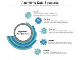 Algorithms Data Structures Ppt Powerpoint Presentation Show Example Topics Cpb