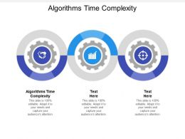 Algorithms Time Complexity Ppt Powerpoint Presentation Icon Master Slide Cpb