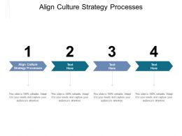 Align Culture Strategy Processes Ppt Powerpoint Presentation Layouts Designs Download Cpb