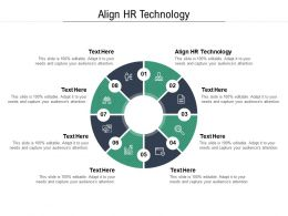 Align HR Technology Ppt Powerpoint Presentation Infographic Template Visual Aids Cpb