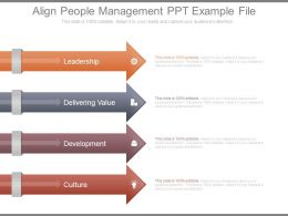 Align People Management Ppt Example File