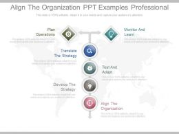 Align The Organization Ppt Examples Professional
