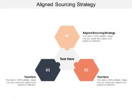 Aligned Sourcing Strategy Ppt Powerpoint Presentation File Files Cpb