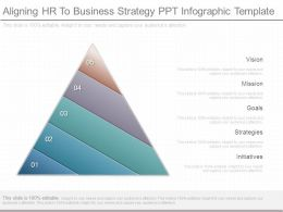 Aligning Hr To Business Strategy Ppt Infographic Template