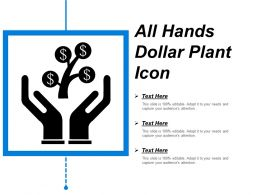 All Hands Dollar Plant Icon