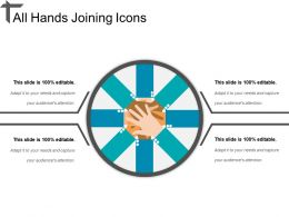 All Hands Joining Icons