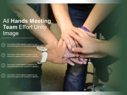 All Hands Meeting Team Effort Unity Image