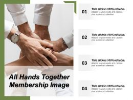 All Hands Together Membership Image