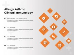 Allergy Asthma Clinical Immunology Ppt Powerpoint Presentation File Graphics Tutorials
