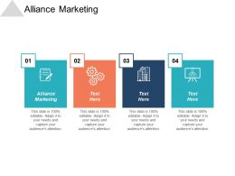 Alliance Marketing Ppt Powerpoint Presentation Gallery Graphics Template Cpb