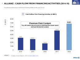 Allianz Cash Flow From Financing Activities 2014-18
