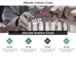 Allocate Indirect Costs Ppt Powerpoint Presentation Pictures Example Introduction Cpb