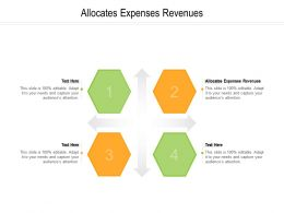 Allocates Expenses Revenues Ppt Powerpoint Presentation Model Infographics Cpb