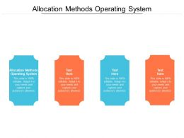 Allocation Methods Operating System Ppt Powerpoint Presentation Format Cpb