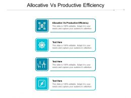 Allocative Vs Productive Efficiency Ppt Powerpoint Presentation File Gridlines Cpb