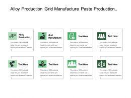 Alloy Production Grid Manufacture Paste Production Oxide Manufacture