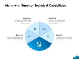 Along With Superior Technical Capabilities L1382 Ppt Powerpoint Presentation Aids Icon