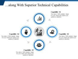 Along With Superior Technical Capabilities Powerpoint Slide Backgrounds