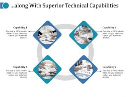 Along With Superior Technical Capabilities Ppt Gallery Master Slide