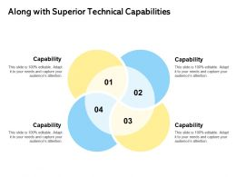 Along With Superior Technical Capabilities Ppt Powerpoint Presentation Icon Template