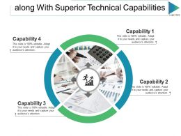Along With Superior Technical Capabilities Ppt Slides Graphics Template