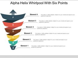 Alpha Helix Whirlpool With Six Points