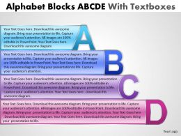 Alphabet Blocks ABCD With Textboxes 6