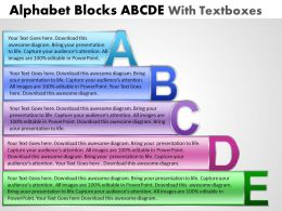 Alphabet Blocks Diagram
