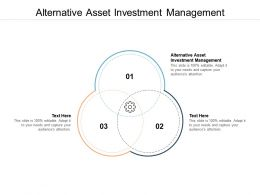 Alternative Asset Investment Management Ppt Powerpoint Presentation Portfolio Background Cpb