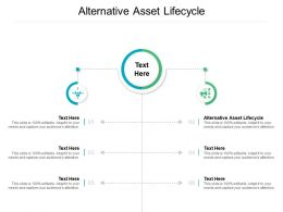 Alternative Asset Lifecycle Ppt Powerpoint Presentation Infographics Slide Cpb