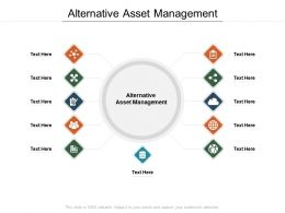 Alternative Asset Management Ppt Powerpoint Presentation Inspiration Cpb