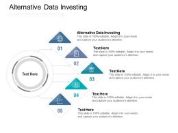 Alternative Data Investing Ppt Powerpoint Presentation Visual Aids Icon Cpb