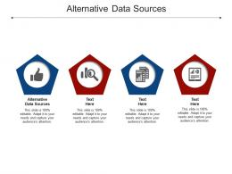 Alternative Data Sources Ppt Powerpoint Presentation Icon Backgrounds Cpb