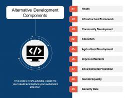 Alternative Development Components