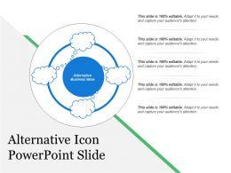 Alternative Icon Powerpoint Slide