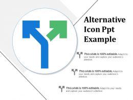 Alternative Icon Ppt Example