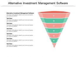 Alternative Investment Management Software Ppt Powerpoint Presentation Inspiration Files Cpb