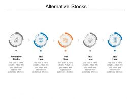 Alternative Stocks Ppt Powerpoint Presentation Slides Smartart Cpb