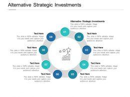 Alternative Strategic Investments Ppt Powerpoint Presentation Icons Cpb