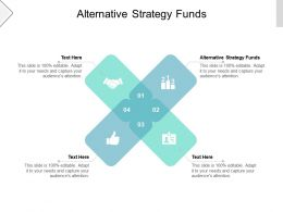 Alternative Strategy Funds Ppt Powerpoint Presentation Ideas Brochure Cpb