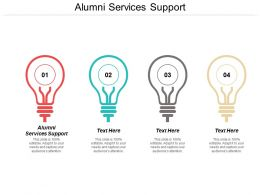 Alumni Services Support Ppt Powerpoint Presentation Layouts Objects Cpb