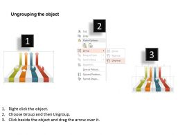 am_four_colored_arrows_and_pie_charts_powerpoint_template_Slide03