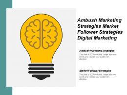 Ambush Marketing Strategies Market Follower Strategies Digital Marketing Cpb