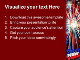 america new year 2011 festival powerpoint template 1010 presentation themes and graphics slide02